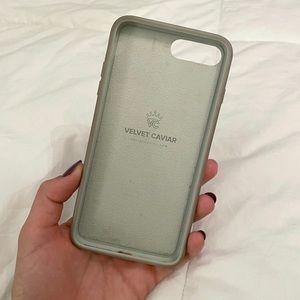 Velvet Caviar Accessories - White Clouds Camo iPhone 8/7+ Case
